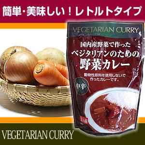 ベジタリアンのための野菜カレー
